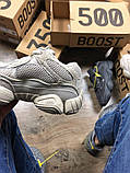 Женские кроссовки в стиле Adidas Yeezy Boost 500 Blush, Адидас Изи буст 500 (Реплика ААА), фото 6