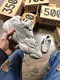 Женские кроссовки в стиле Adidas Yeezy Boost 500 Blush, Адидас Изи буст 500 (Реплика ААА), фото 7