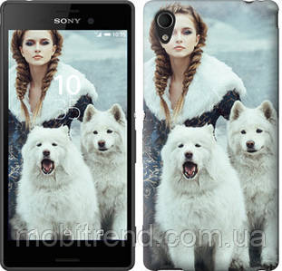 Чехол на Sony Xperia M4 Aqua E2312 Winter princess
