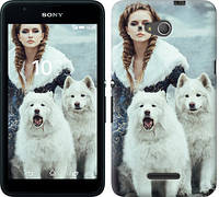 Чехол на Sony Xperia E4g Winter princess