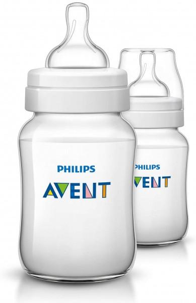 Пляшечка для годування Philips Avent Classic+, 2шт., 260 мл (SCF563/27)