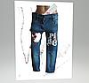 Стрейчеві джинси Paris перевертиш для дівчинки 4-6 років