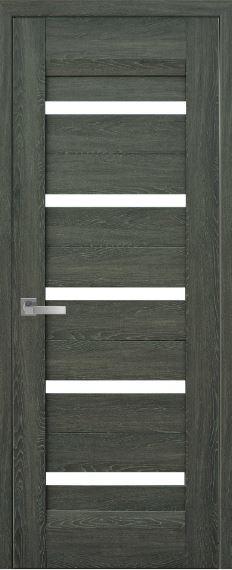 Дверь межкомнатная  со стеклом сатин LIRA