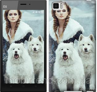 Чехол на Xiaomi Mi3 Winter princess