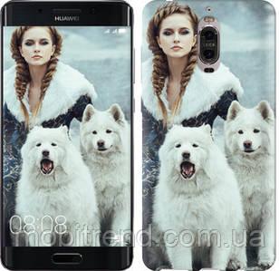 Чехол на Huawei Mate 9 Pro Winter princess