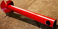 Широколопастные сваи (гвинтові палі) диаметром 76 мм., длиною 3 метра