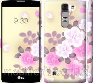 Чехол на LG G4c H522y Японские цветы