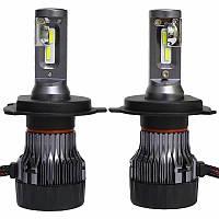 Автомобильные светодиодные лампы автолампы с цоколем H4 LED лампы модель T2 MINI цоколь H4
