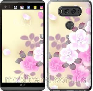 Чехол на LG V20 Японские цветы