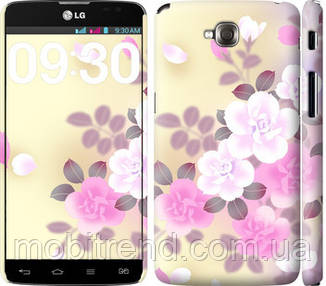 Чехол на LG G Pro Lite Dual D686 Японские цветы