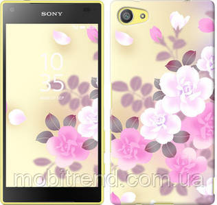 Чехол на Sony Xperia Z5 Compact E5823 Японские цветы