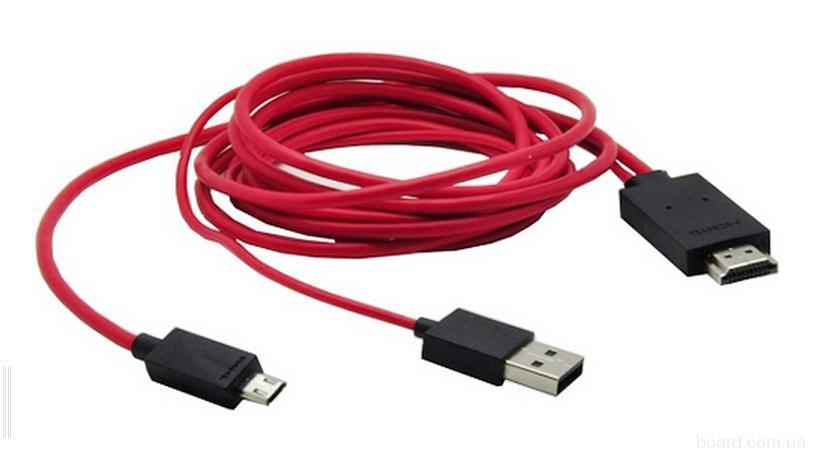 Переходник HDMI micro USB MHL 2.0 Galaxy S4 i9500