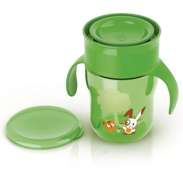 Первая взрослая чашка Philips Avent, 260 мл, зеленый (SCF782/00)