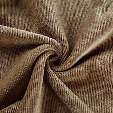 Боди мягкий вельвет горчичного цвета на длинный рукав-170-06, фото 3