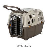 Переноска Trixie Skudo 5 для собак до 35 кг, 59х65х79  (IATA). Подходит для перелетов