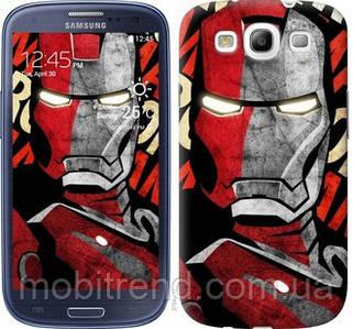 Чехол на Samsung Galaxy S3 i9300 Iron Man