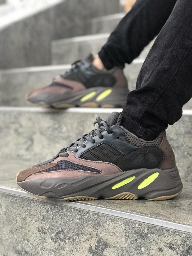 Женские кроссовки в стиле Adidas yeezy boost 700 (MAUVE), адидас изи буст 700 (Реплика ААА)