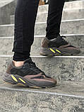 Женские кроссовки в стиле Adidas yeezy boost 700 (MAUVE), адидас изи буст 700 (Реплика ААА), фото 4