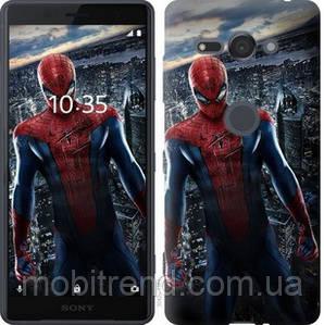 Чехол на Sony Xperia XZ2 Compact H8324 Новый Человек-Паук