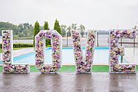 Цветочные буквы LOVE, фото 1