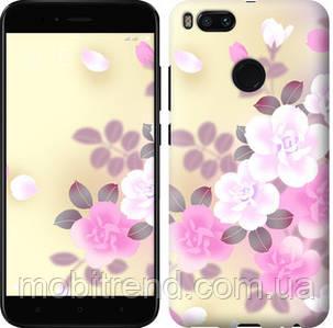 Чехол на Xiaomi Mi A1 Японские цветы