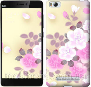 Чехол на Xiaomi Mi4c Японские цветы