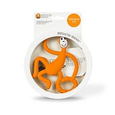 Іграшка-прорізувач Matchstick Monkey Танцююча Мавпочка (колір оранжевий, 14 см), фото 2