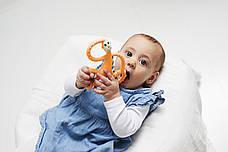 Іграшка-прорізувач Matchstick Monkey Танцююча Мавпочка (колір оранжевий, 14 см), фото 3