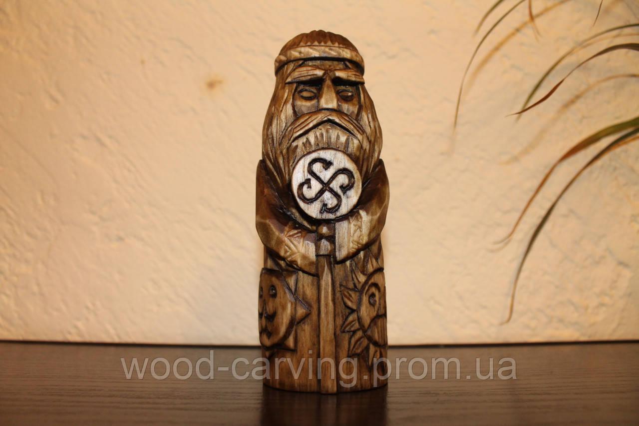 Слов'янські боги. Род. Різьба по дереву