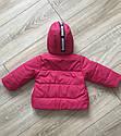 Курточка весна-осень для девочки «Панда» размеры 74, 80, 86, 92, фото 4