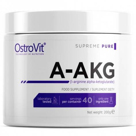 Аминокислоты OstroVit аргинин A-AKG 200 г, фото 2