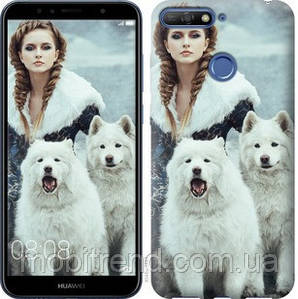 Чехол на Huawei Y6 Prime 2018 Winter princess
