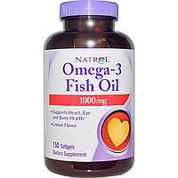Рыбий жир в капсулах Омега-3 Natrol 150 капсул