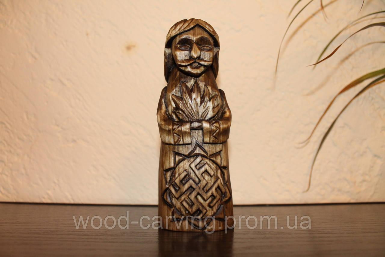 Слов'янські боги. Купало. Різьба по дереву