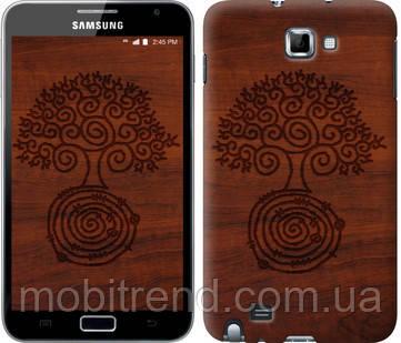 Чехол на Samsung Galaxy Note i9220 Узор дерева