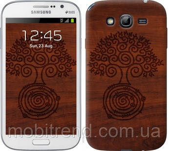 Чехол на Samsung Galaxy Grand Neo I9060 Узор дерева