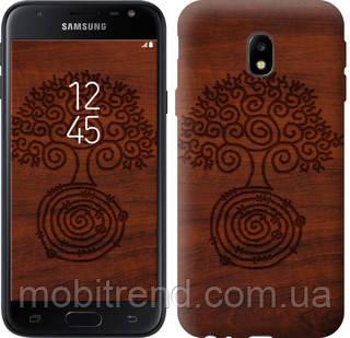 Чехол на Samsung Galaxy J3 (2017) Узор дерева