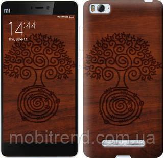 Чехол на Xiaomi Mi4c Узор дерева