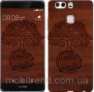 Чехол на Huawei P9 Plus Узор дерева