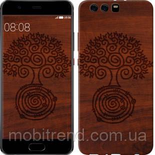 Чехол на Huawei P10 Plus Узор дерева