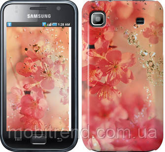 Чехол на Samsung Galaxy S i9000 Розовые цветы