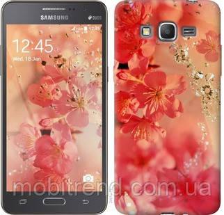 Чехол на Samsung Galaxy Grand Prime VE G531H Розовые цветы
