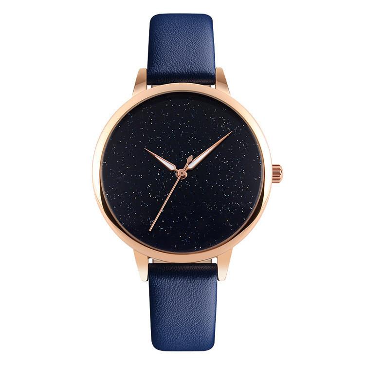 Skmei 9141 moon синие женские  часы