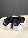 Мужские кроссовки Adidas yung 95 black white. Живое фото. (Топ реплика ААА+), фото 2
