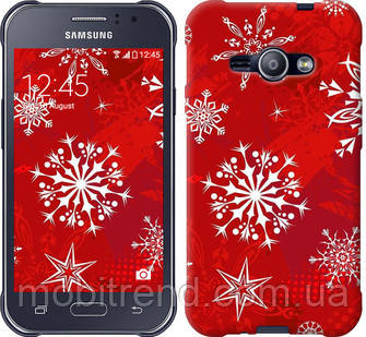 Чехол на Samsung Galaxy J1 Ace J110H Снежинка 2