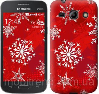 Чехол на Samsung Galaxy Star Advance G350E Снежинка 2