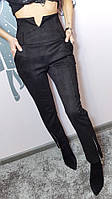 Лосины-брюки женские из замша, фото 1