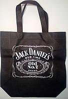 """Еко сумка mini """"Jack Daniel's"""" з замком 320х270х100*25"""