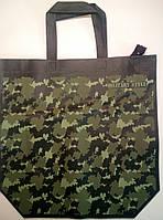 "Еко сумка standart ""Military"" з замком, ручка 400мм  385х320х120*25"