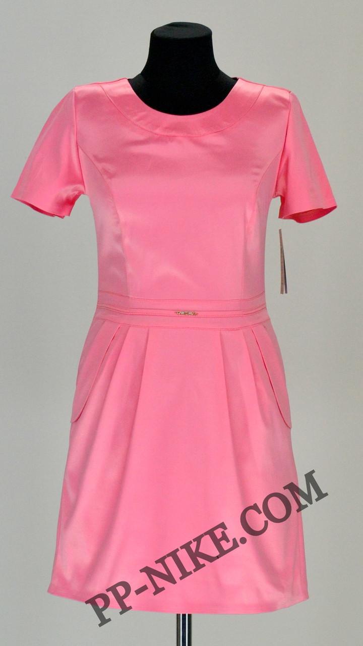 Атласное платье №454